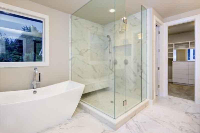 how do you paint a fiberglass shower